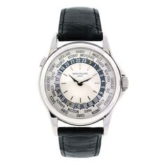 Cool Stuff We Like Here @ http://coolpile.com/tag/watches/ ------- << Original Comment >> ------- Patek Philippe 5110G World Time 18k White Gold Watch