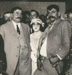 """""""Derecho,Eufemio Zapata, hermano de Emiliano. Y creo que a la izquierda Eulalio Gutiérrez. Convención de Aguascalientes."""" ~ Clauferco"""