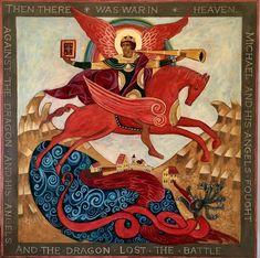 Simonneau Hales - an icon of St. Michael the Archangel