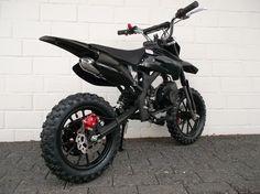Crossbike-4041-Pocket bike-Dirtbike-2 Takt Kinder Motorrad-Mini Enduro-KXD in…