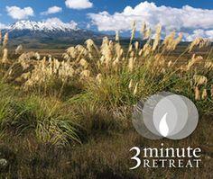 Enjoy today's 3-Minute Retreat, Faith is Strength.