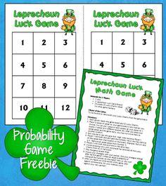 Corkboard Connections: Leprechaun Luck Probability Freebie
