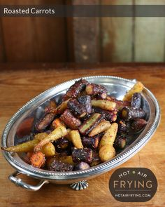 Air Fryer Recipe: roasted-carrots