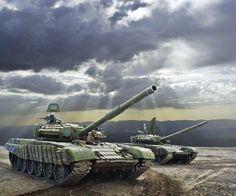 Russian T- 72.