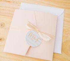 Hochzeitseinladung, Pocketfold-Einladung, Deutschland, besondere Papeterie, Hochzeitspapeterie, Blush, beige, mint