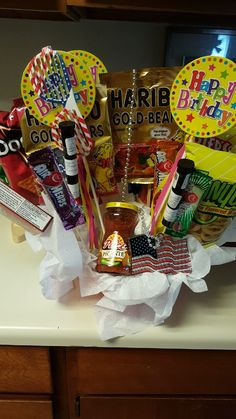Made Him A Stoner Basket For His Bday Daddy Birthday Gifts