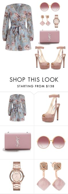 """Simple as that no.78"" by ronnie-27 ❤ liked on Polyvore featuring Zimmermann, Prada, Yves Saint Laurent, Linda Farrow, Marc by Marc Jacobs and Michael Kors"