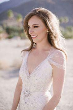 Jenny Packham wedding dress via Elizabeth Anne Designs.