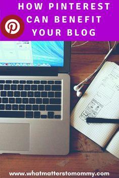5 ways Pinterest can benefit your blog.