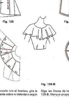Sensational Tips Sewing Pattern Ideas. Brilliant Tips Sewing Pattern Ideas. Dress Sewing Patterns, Sewing Patterns Free, Sewing Tutorials, Clothing Patterns, Bodice Pattern, Collar Pattern, Techniques Couture, Sewing Techniques, Sewing Collars