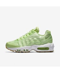 the best attitude 1033f 24e40 Nike Air Max 95 Qs Light Liquid Lime White Gum Yellow Womens Shoes Outlet