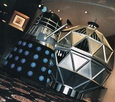 Dalek & Mechanoid First Doctor, Doctor Who, William Hartnell, Dalek, Cool Names, Dr Who, Tardis, Robots, 1960s