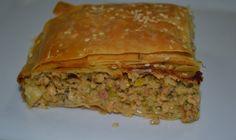Κοτόπιτα με χειροποίητο φύλλο Christen, Meatloaf, Lasagna, Food Processor Recipes, Brunch, Snacks, Cookies, Breakfast, Ethnic Recipes