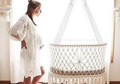 Hanging Crib, Bassinet, Cribs, Furniture, Home Decor, House 2, House Decorations, Cots, Hanging Cradle
