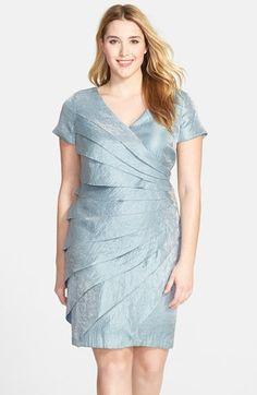 MSK Plus Illusion Floral Lace Dress Dresses Women Macy s