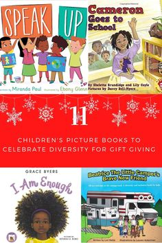 11 Children's books celebration diversity and inclusion to put on your child's Christmas list in 2020. #affiliatelinks Women Camping, Camping With Kids, Kids Christmas, Christmas Gifts, Little Campers, Children's Picture Books, Book Gifts, Childrens Books, Christmas Presents