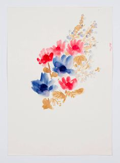 """Untitled, from the """"Florals"""" series 