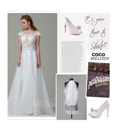 """It's your time to shine"" by merima-kopic ❤ liked on Polyvore featuring wedding and Cocomelody"
