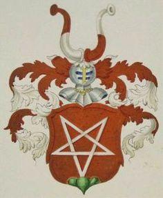 Coat of arms of the illuminati | Illuminati-Symbols-Pentagram-Coat-of-Arms-Wappen-Schaffhausen