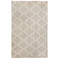 COCOCOZY Yale Champagne Hand Knotted Wool Rug