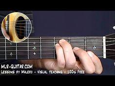 Angie - 1er cours de guitare