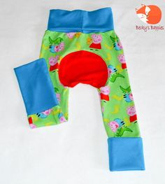 Maxaloones Grow with me Pants Size by BeckysBappies