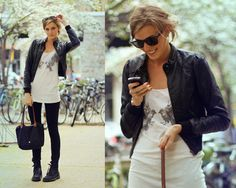 I could definitely re-create this look with what I have in my closet