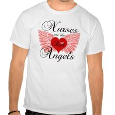 Nurses Are The Real Angels T Shirt, Hoodie Sweatshirt