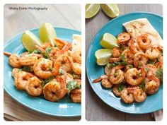 Quick and spicy shrimp