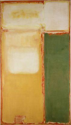 dailyrothko: Mark Rothko, N ° 11 / No. 20, 1949
