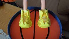 Fofucha personalizada Baloncesto (detalle)