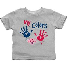 Saint Mary's Gaels Toddler My Colors T-Shirt - Ash. HOW ADORABLE!