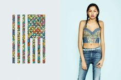 Liberty London and Levis Collaboration
