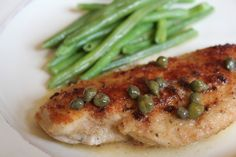 Easy Chicken Piccata - a traditional Italian meal done the easy way! - Domestic Charm