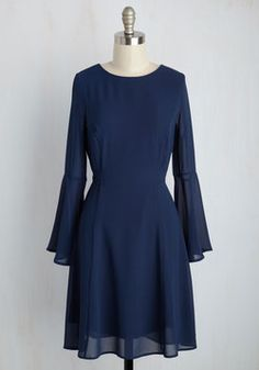 Make the Writer Choice Dress. The only thing more spectacular than the novel launch parties you throw are your ensembles for the occasion, like this blue dress! Stylish Dress Designs, Stylish Dresses, Cute Dresses, Casual Dresses, Plain Dress, Mod Dress, Dress Up, Romper With Skirt, Retro Vintage Dresses