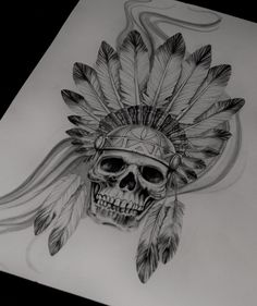 indian skull More