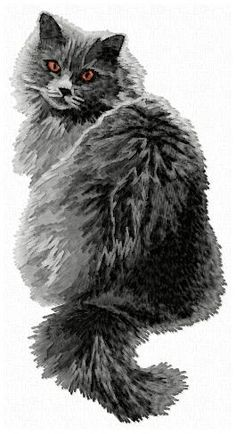 Stock of embroidery designs Color Blending, Cat Breeds, Animals And Pets, Machine Embroidery, Embroidery Designs, Diy And Crafts, Dog Cat, Owl, Craft Ideas
