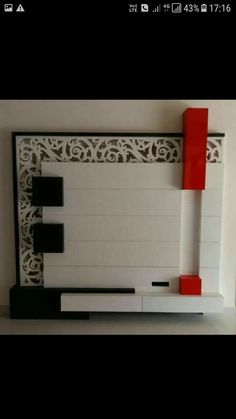 New bathroom storage cupboard Ideas Lcd Panel Design, Wall Paneling Diy, Tv Wall Design, Crockery Unit, Tv Unit Furniture Design, Tv Room Design, Wall Design, Wall Tv Unit Design, Tv Wall Decor