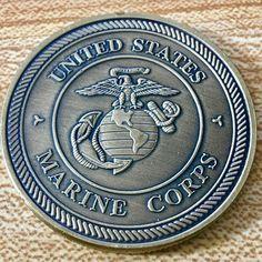 Pewter USMC Bulldog Money Clip 1pc