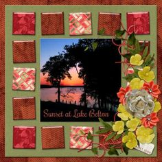 Digital Scrapbook kit  PattyB Scraps OUR LIVES  elements, papers and cardstock  http://www.godigitalscrapbooking.com/shop/index.php?main_page=index&manufacturers_id=149 Template - Jen C Designs LIFE'S SNAPSHOTS TEMPLATE GRAB BAG at Gotta Pixel or Digital Scrapbooking Studio