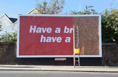 Outdoor Advertising that Messes With the System Kit-Kat