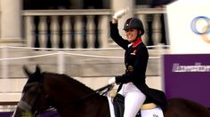 Great Britain won a 20th gold medal of London 2012 inside the dressage arena, surpassing Beijing 2008 for the team's best tally in more than a century.  Laura Bechtolsheimer, Carl Hester and Charlotte Dujardin took team gold ahead of Germany inside Greenwich Park.