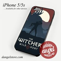 The witcher 3 game Phone case for iPhone 4/4s/5/5c/5s/6/6 plus