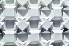 Origami tessellation by Ron Resch