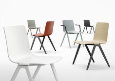 A-Chair by Jehs+Laub for Davis Furniture - Davis Furniture, Office Furniture, Home Furniture, Lobby Furniture, Business Furniture, Office Chairs, Modern Furniture, Furniture Design, Dining Chair Pads