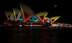 Beautiful Sydney at night!