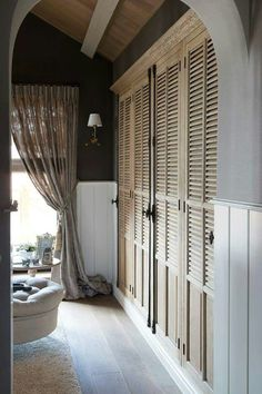 19 New Ideas For French Furniture Bedroom Closet Doors French Closet Doors, Bedroom Closet Doors, Wardrobe Doors, Bedroom Wardrobe, French Doors Bedroom, French Bedrooms, Louvre Doors, Casa Loft, House Ideas