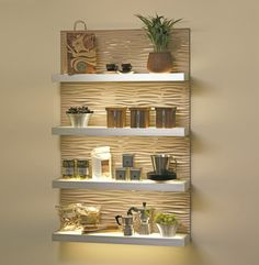 Impeccable Shelves Lighting Designs That You Have To See