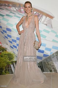 Petra Nemcova attends the 'The Art of Giving' Love Ball Naked Heart Foundation Photo Call as part of Paris Fashion Week Haute Couture Fall/Winter 2016-2017 on July 6, 2016 in Paris, France.