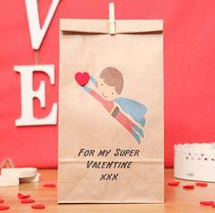 superhero gift bag